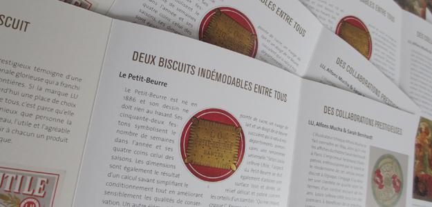 Dépliant exposition exposition l'Art du biscuit