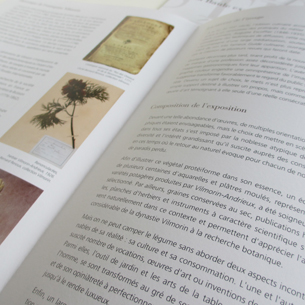 Plaquette exposition Vilmorin La Baule