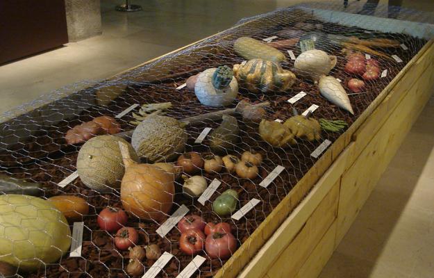 platres moules, exposition Vilmorin La Baule