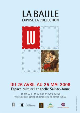 Affiche exposition LU La Baule
