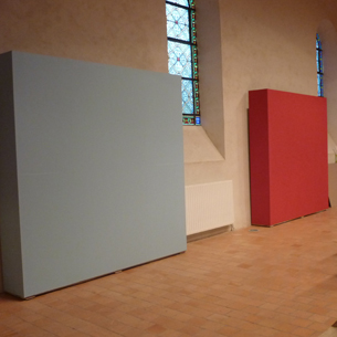 Montage des modules, exposition LU Pornic