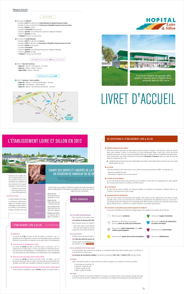 Livret d'accueil Hôpital Loire & Sillon