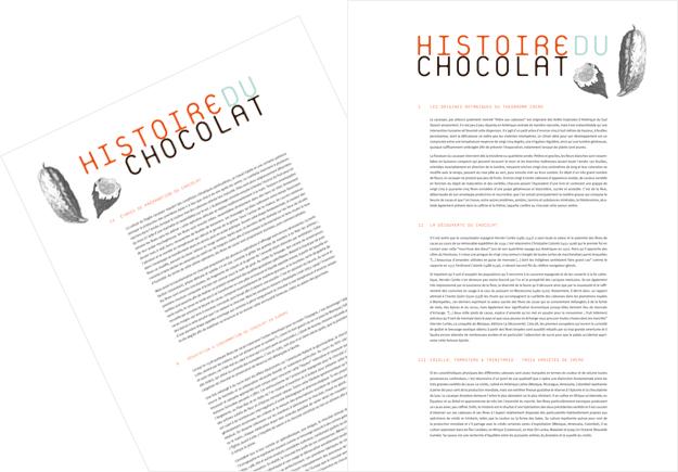 Rédactionnel exposition Chocolat, chocolat