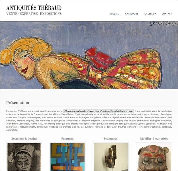 site cms antiquités thebaud page 1