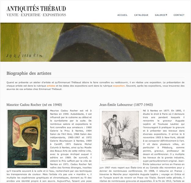 site cms antiquités thebaud page 3