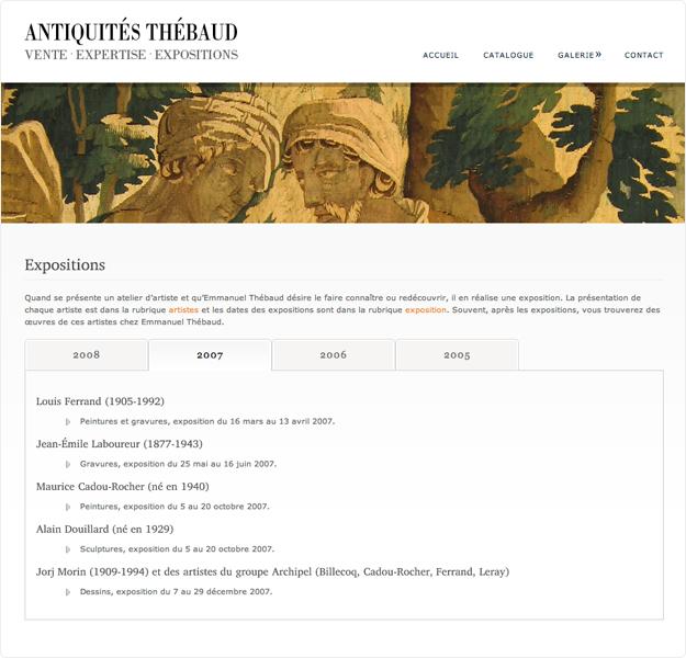 site cms antiquités thebaud page 4